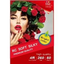 297x210MM A4 RC Satin Inkjet Photo Paper 260g-20 Fogli