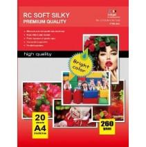 10X15CM R4 RC Satin Inkjet Photo Paper 260g-50 Folhas