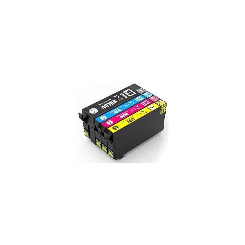 Magente compatible Epson WF-4745 Series-1.9KC13T07U340