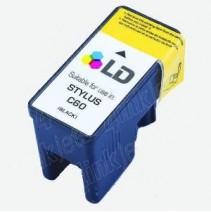 Cartucho para Epson Stylus C60-Preto  T028