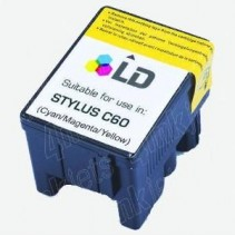 Cartucho para Epson Stylus C60-Cores  T029