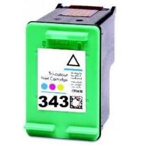 18ml cores para HP Deskjet 460XX/5740/5745/6520-C8766E  343