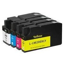 32ML Ciano para Lexmark Pro4000C Pro5000T-2.5K14L0198